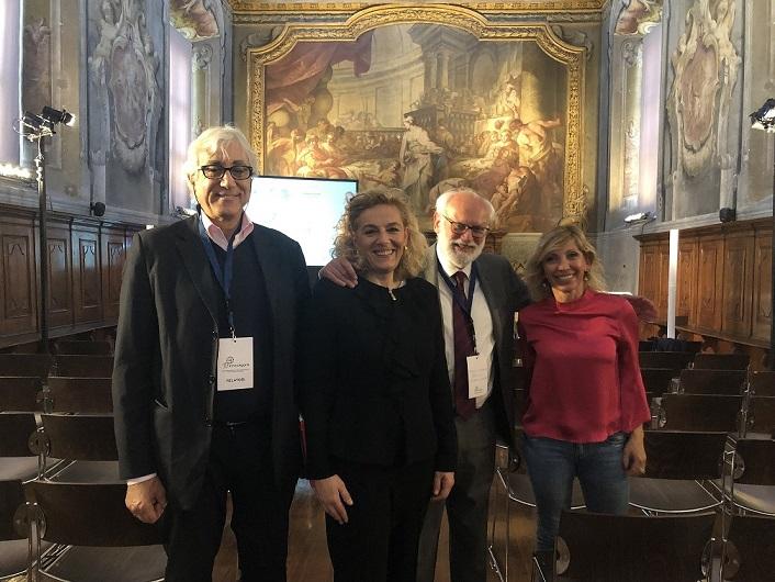 Amedeo Teti, direttore UIBM - Annamaria Bardone - Francesco Macchetta, consigliere dell'OCPI